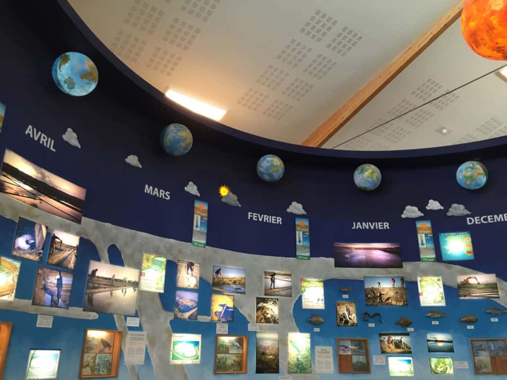 Nella zona museale vengono mostrate le fasi di lavoro nelle stagioni