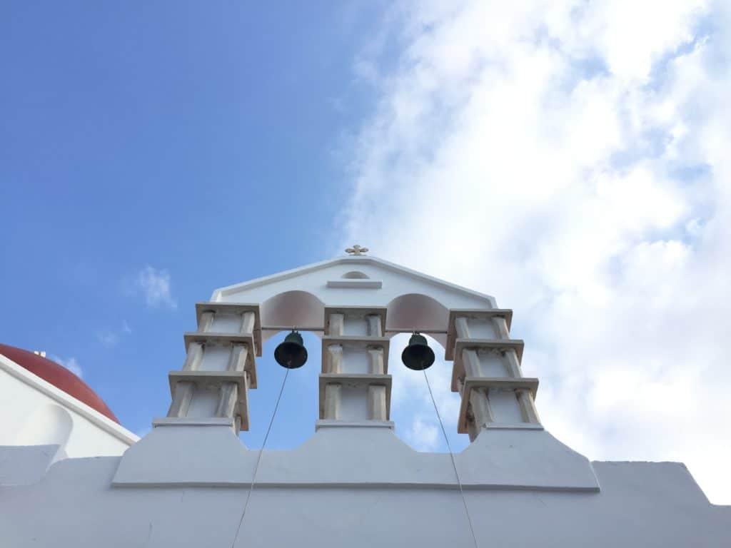 vacanze a mykonos chiesetta