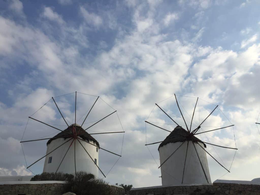vacanze a mykonos mulini