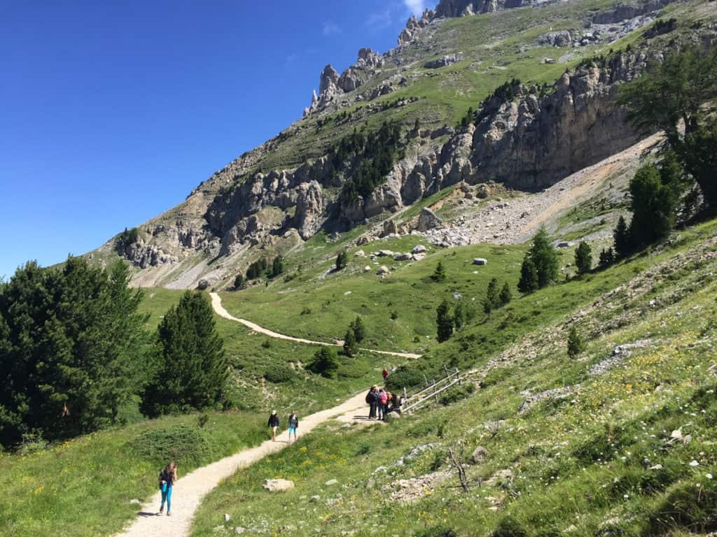latemar escursioni panorama