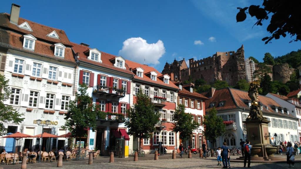 Heidelberg, il centro storico