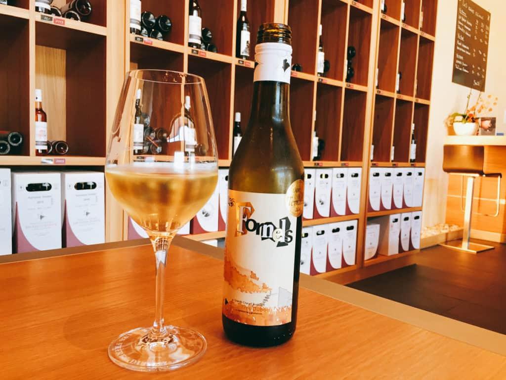 Uno die vini prodotti nen Lavaux