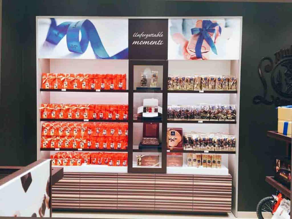 Dove comprare cioccolato a Bruxelles Leonidas