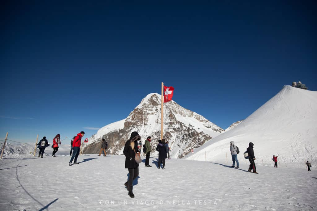 Jungfraujoch, in cima all'Europa