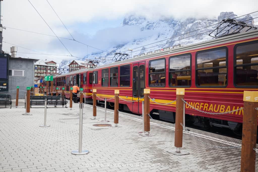 La stazione di Jungfraujoch