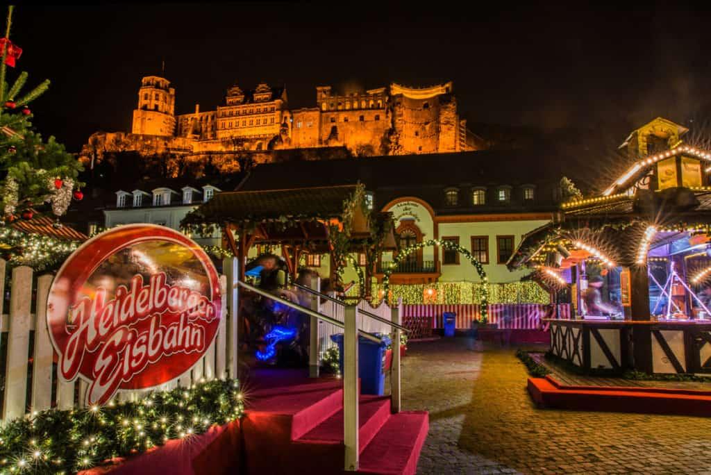 I mercatini di Natale ad Heidelberg
