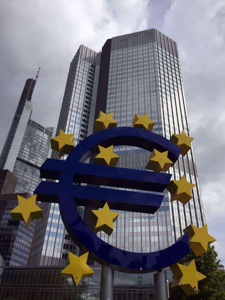 visitare francoforte eurotower