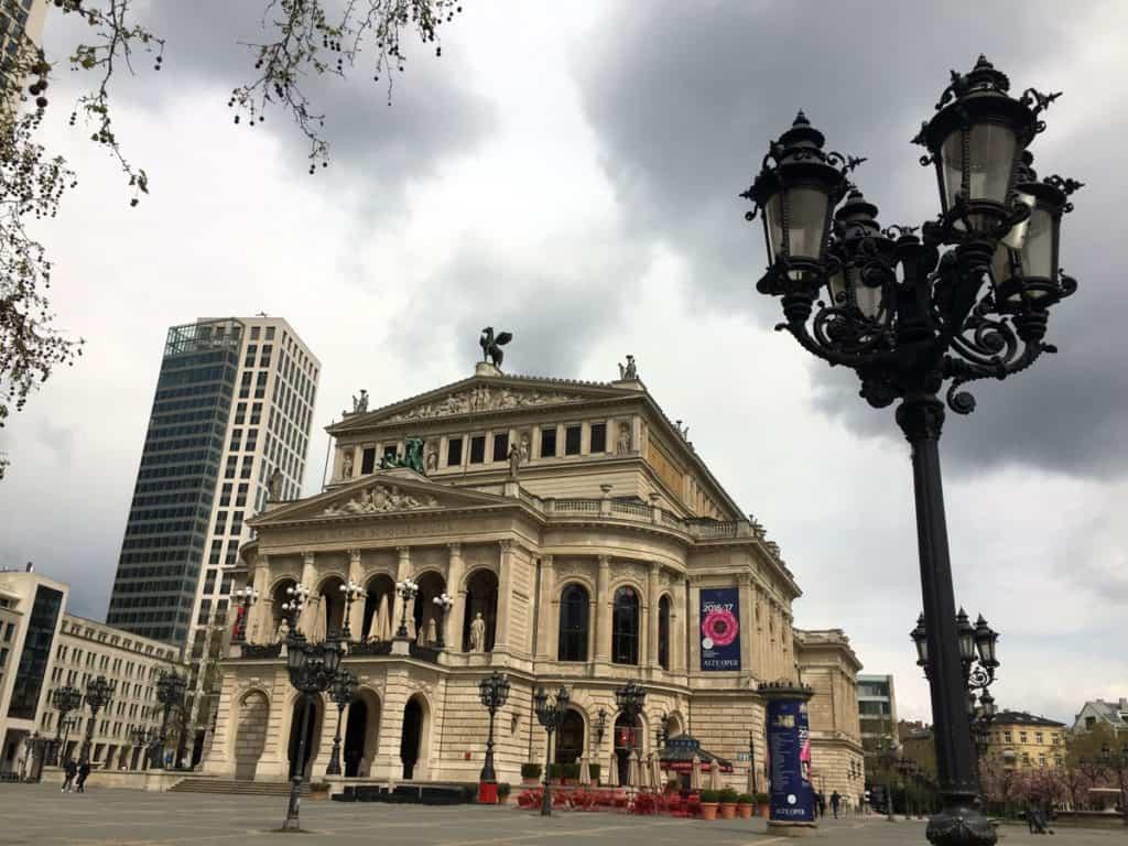 visitare francoforte Opernhaus, il teatro dell'Opera