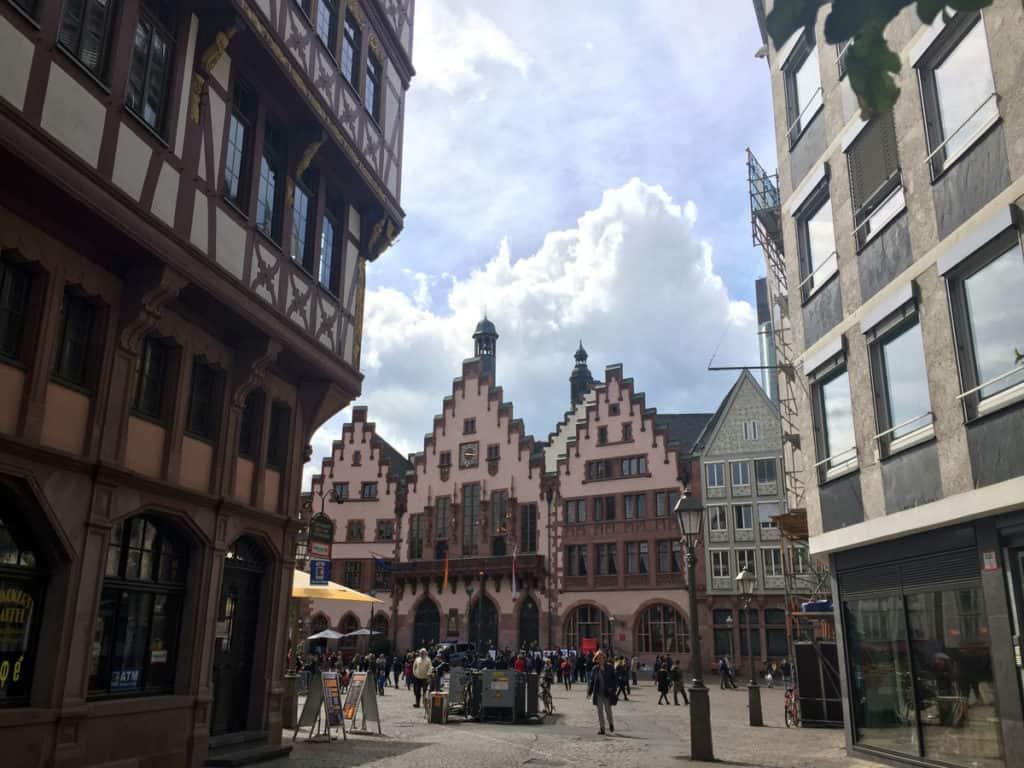 Romerberg, tappa fissa per visitare Francoforte