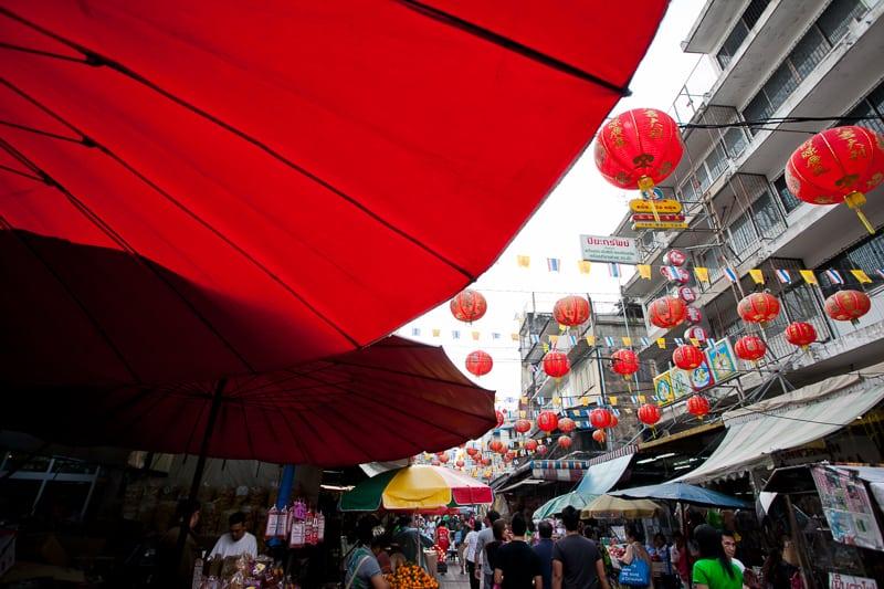 Bangkok e il quartiere di Chinatown