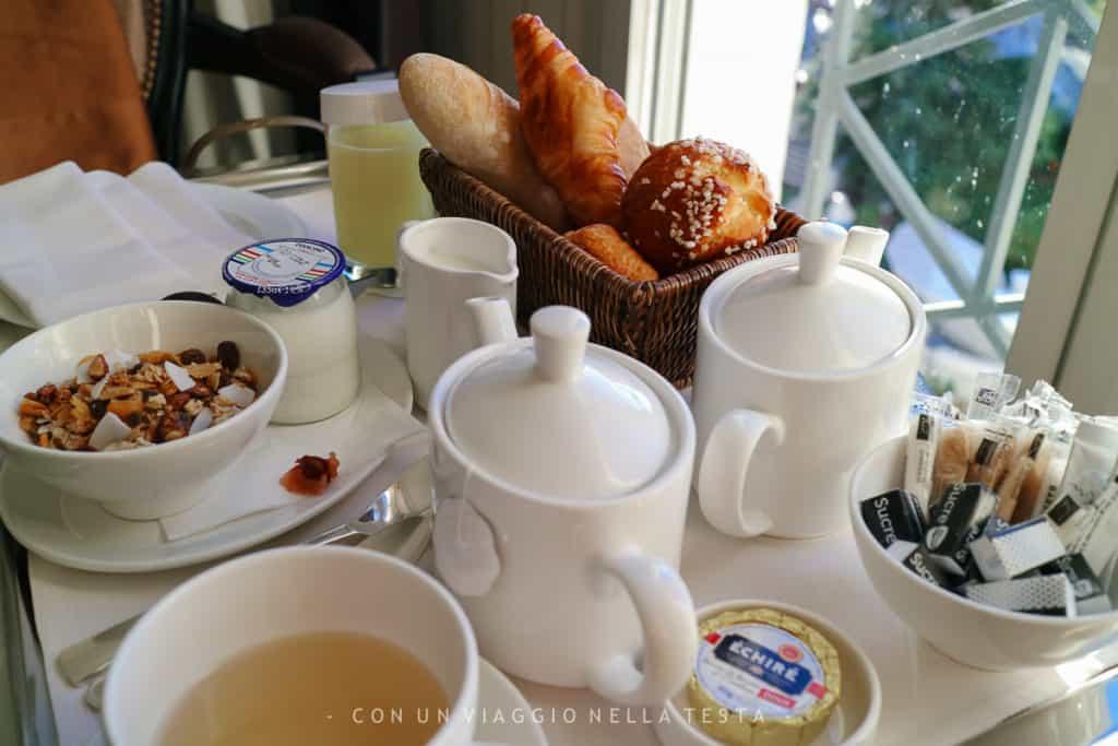 Hotel Barriere Le Majestic colazione