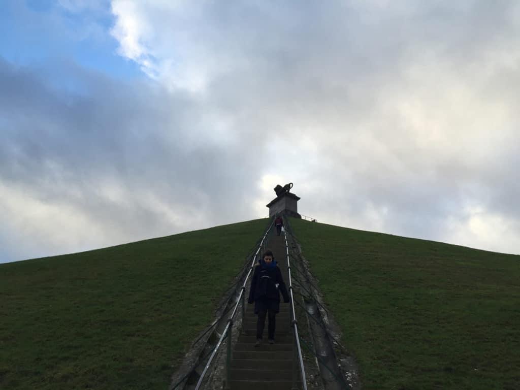 La collina di Waterloo bruxelle e dintorni