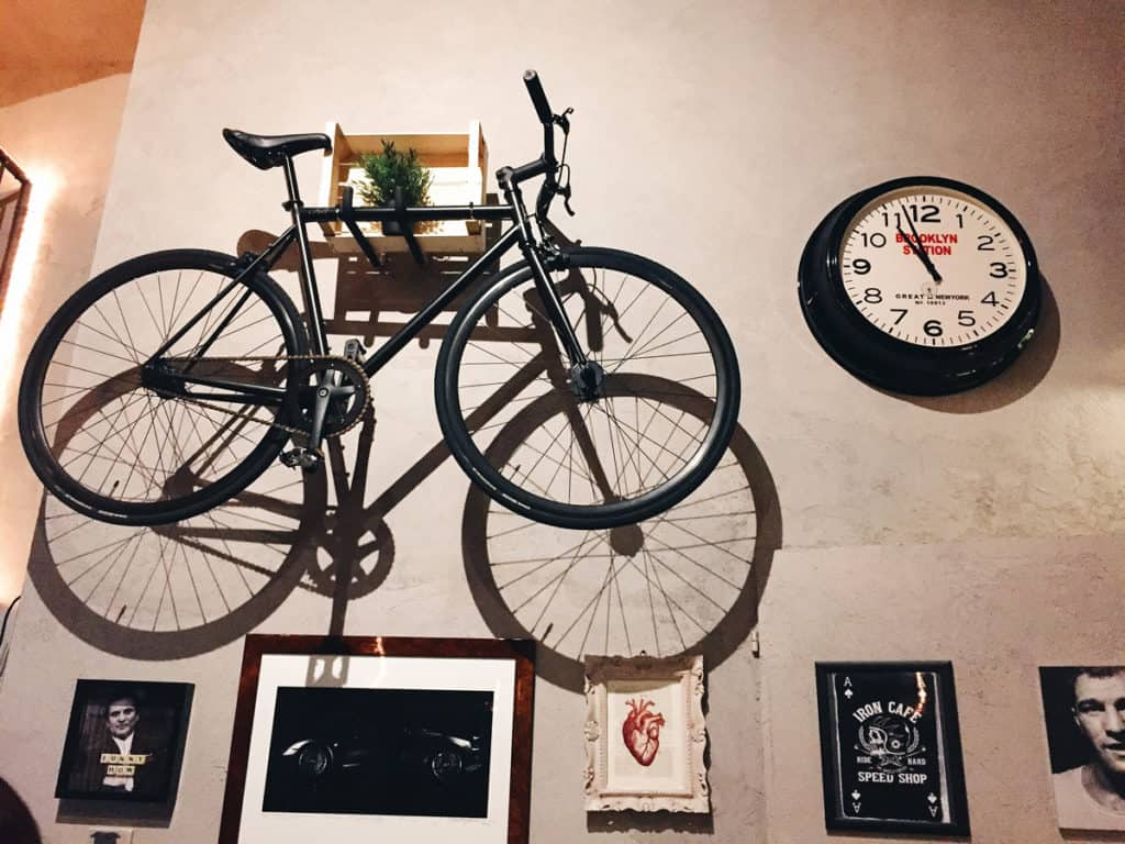 garage pizza milano bici