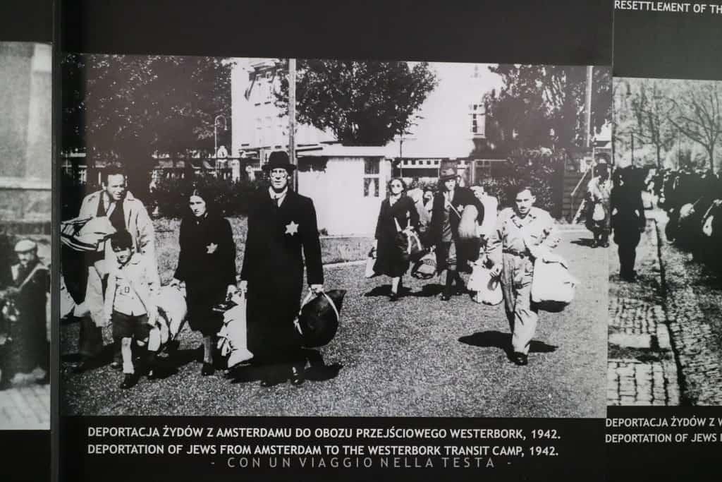 Una delle poche foto salvate dalla cancellazione nazista