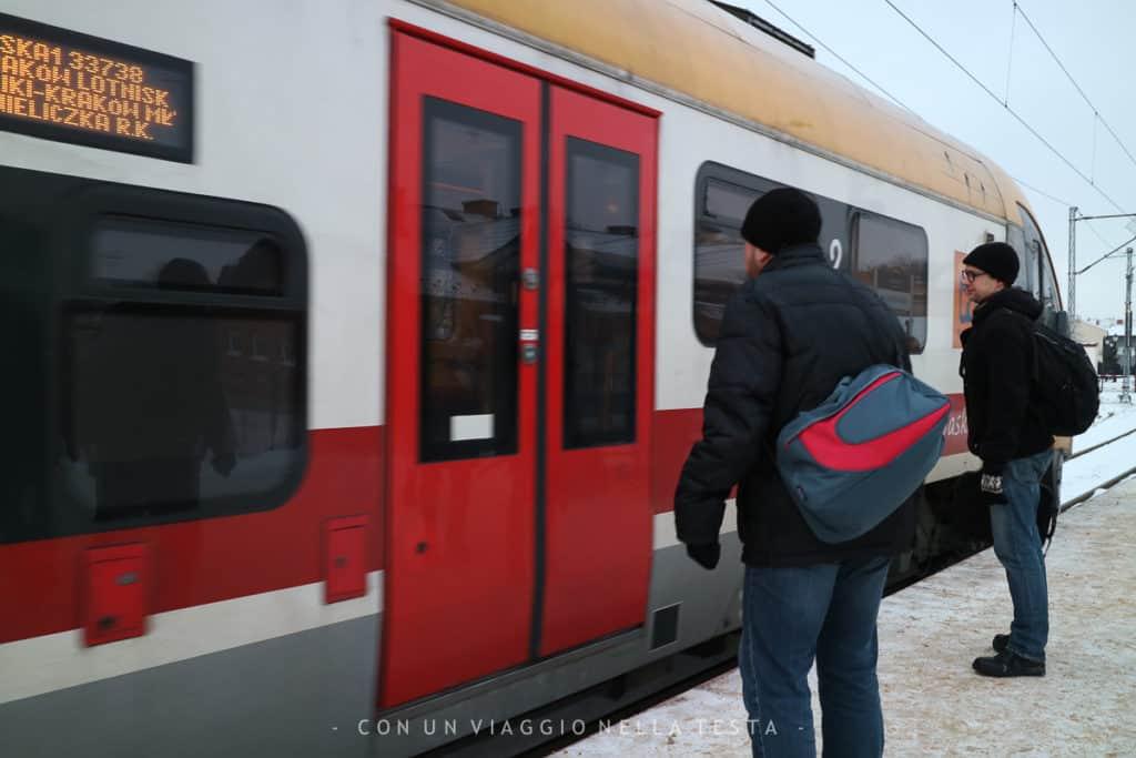 miniere di Cracovia treno