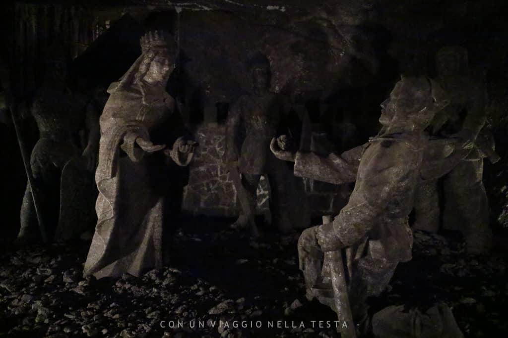 La leggenda della principessa Kinga nelle miniere di Cracovia