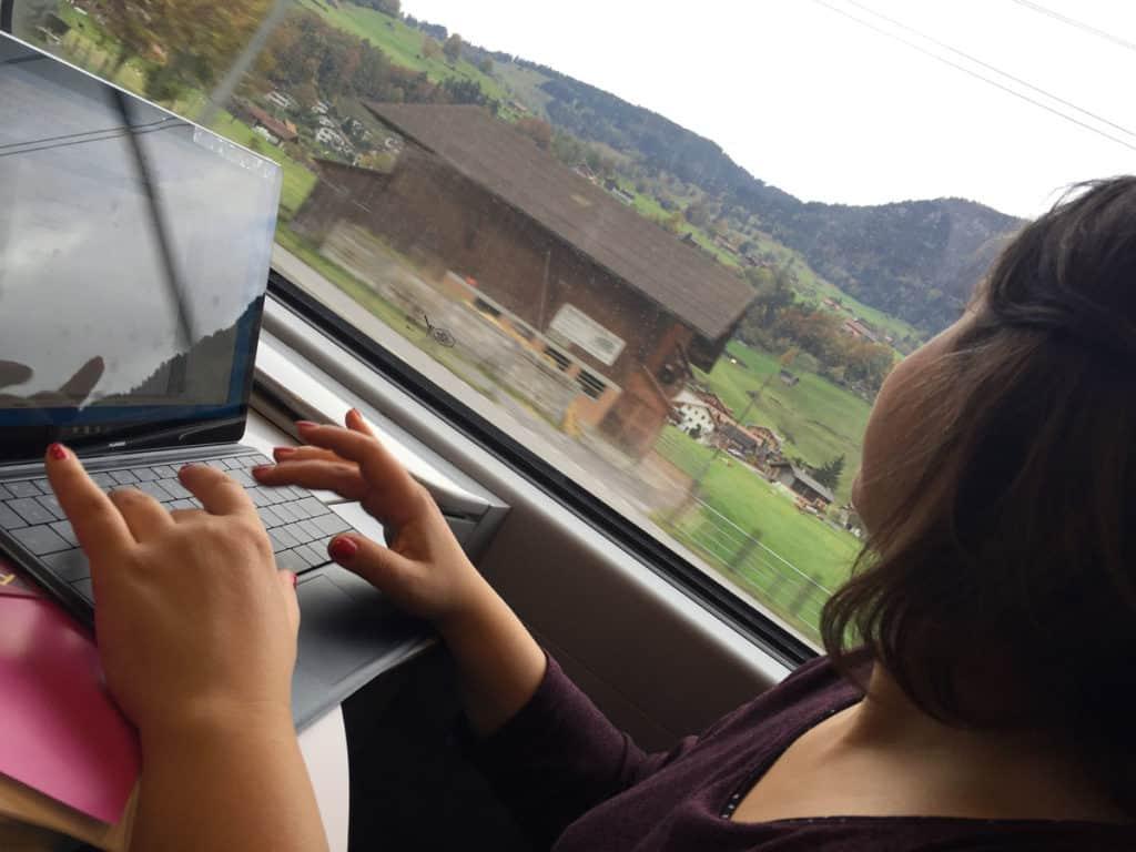 viaggi in treno scrivere