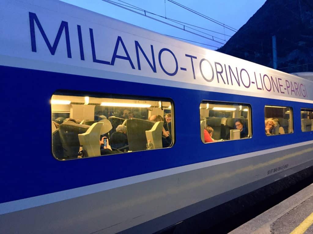 viaggi in treno lione