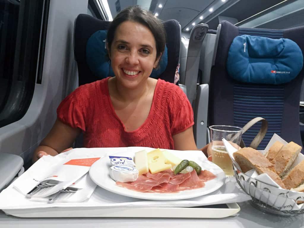 viaggi in treno mangiare