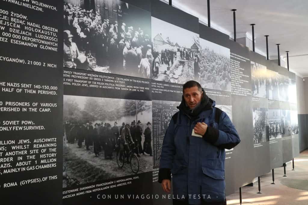 Auschwitz-Birkenau, la nostra guida italiana