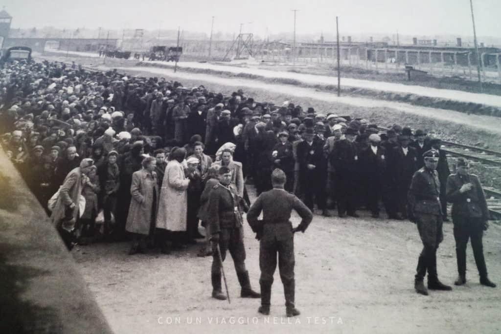 auschwitz-birkenau vecchie foto