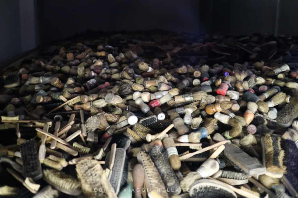 Auschwitz-Birkenau oggetti