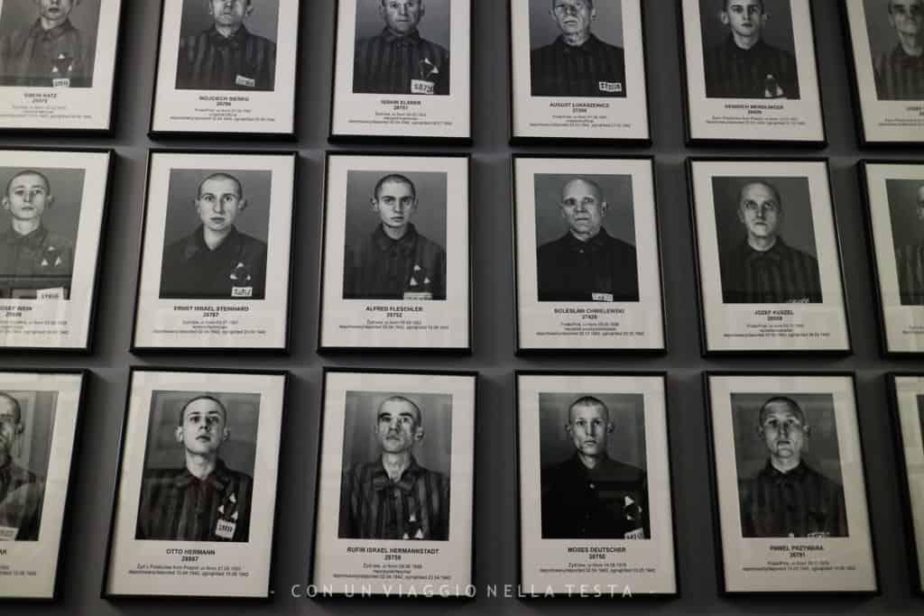 Auschwitz-Birkenau, alcune foto dei prigionieri che venivano registrati all'arrivo