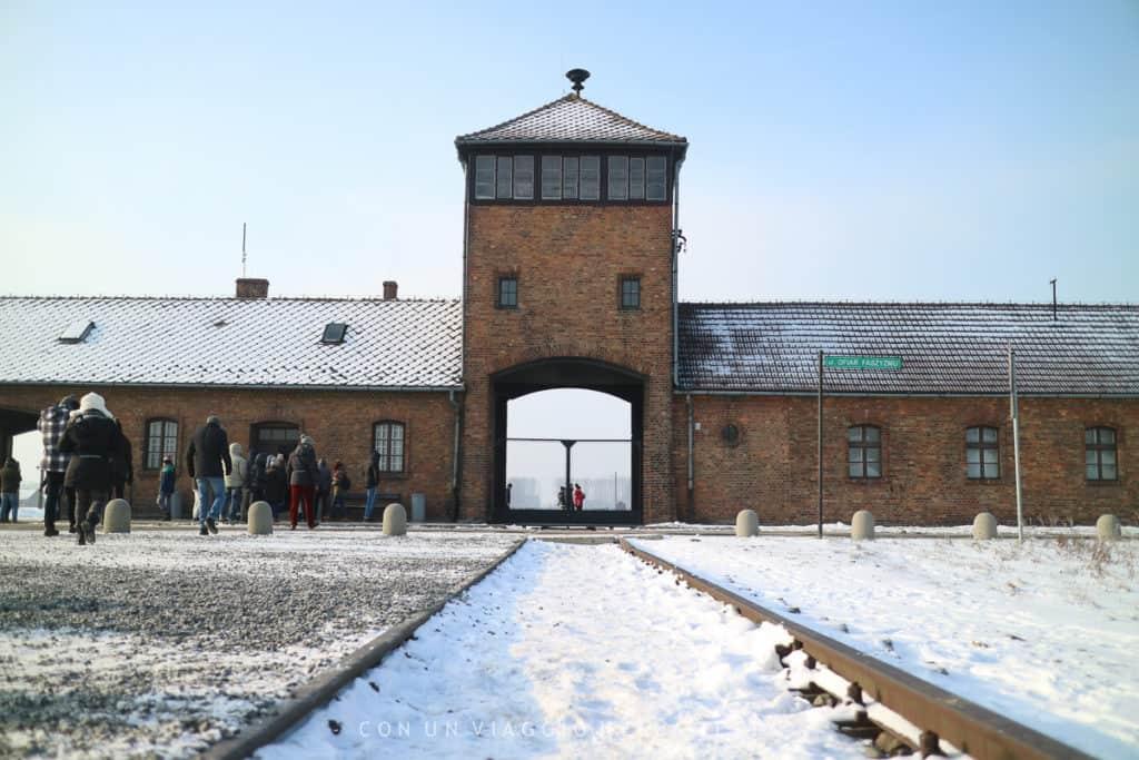 """Il """"binario morto"""" di Birkenau"""
