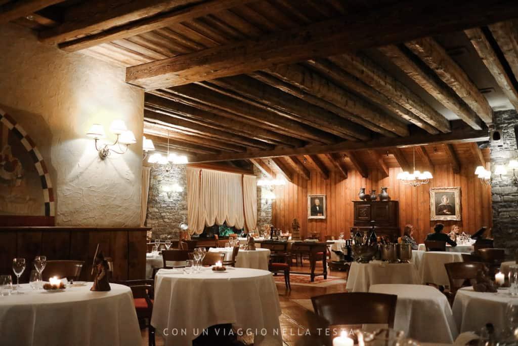 L'atmosfera calda e accogliente del Ristorante La Cassolette del Mont Blanc Hotel Village