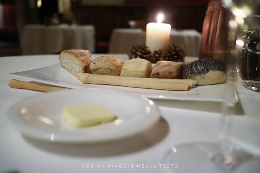L'irresistibile scelta di pane con burro!