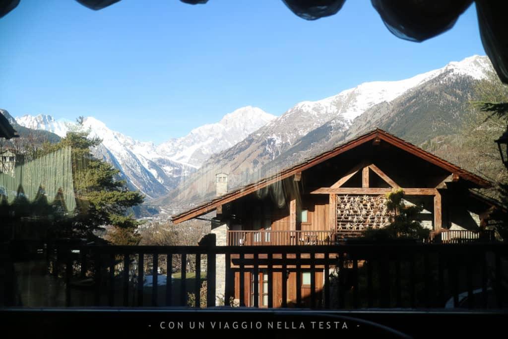La vista mattutina dal Ristorante La Cassolette (la mattina per la colazione!)
