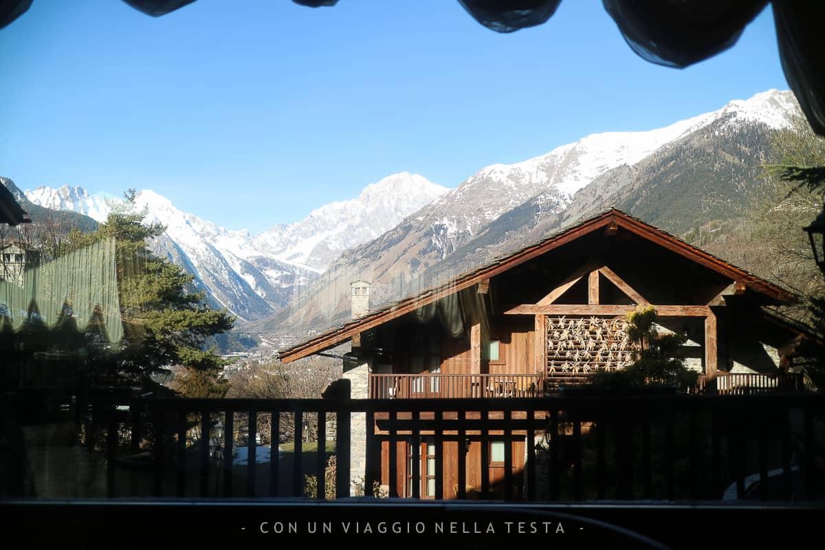 Mont blanc hotel village il mio soggiorno con vista for Ristorante la vista