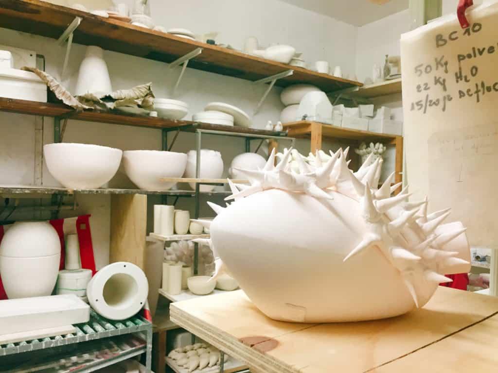 nel laboratorio dello Studio Elica, si sfornano cuori di ogni tipo!