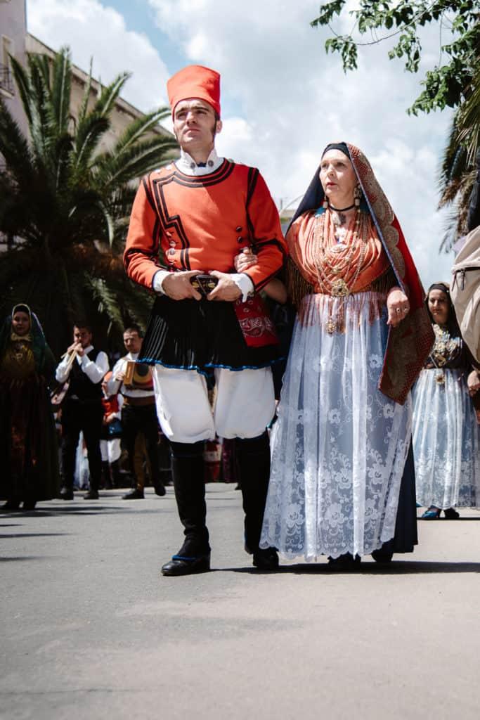 Un momento della Cavalcata sarda PH. www.valeriamameli.com