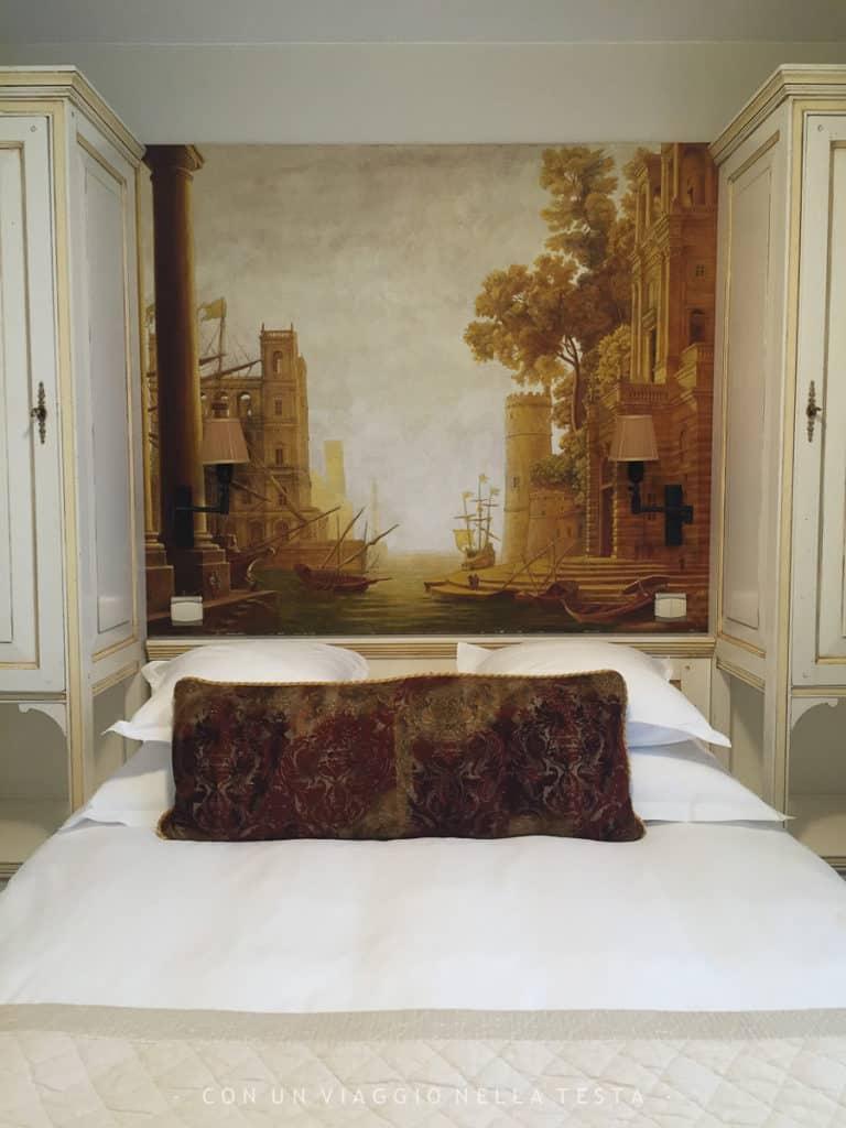 La mia stanza all'Hotel Eze Hermitage