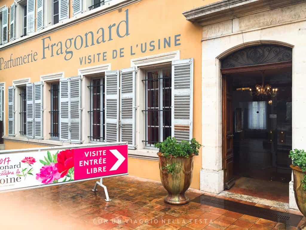 Fragonard, visita al museo fabbrica del profumo di Grasse
