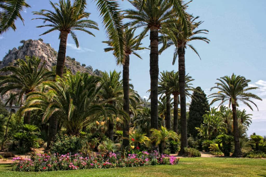 Mentone, il Giardino di Villa Maria Serena