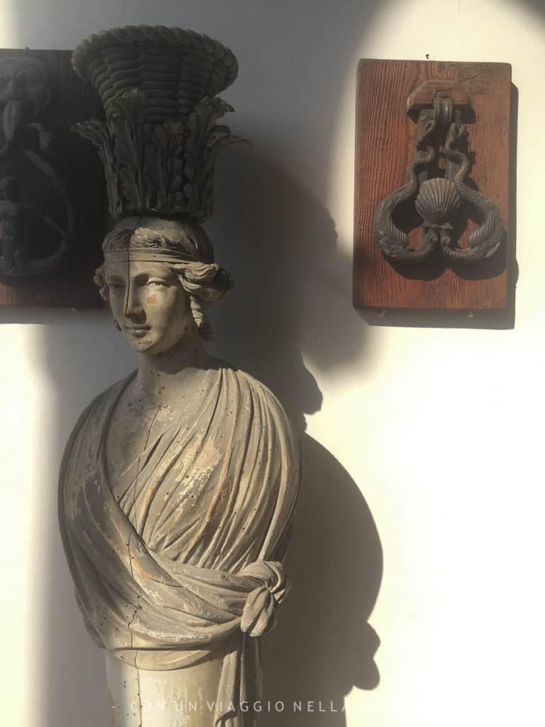 Un dettaglio degli interni della Villa Ephrussi de Rothschild