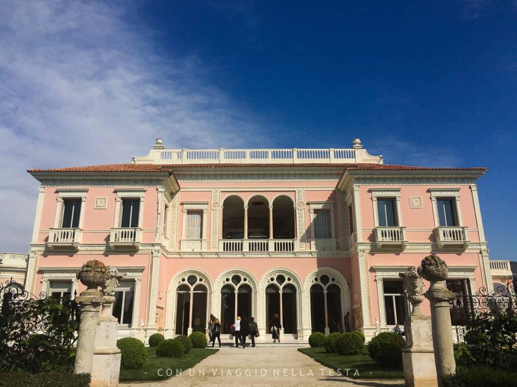 La facciata interna della Villa Ephrussi de Rothschild