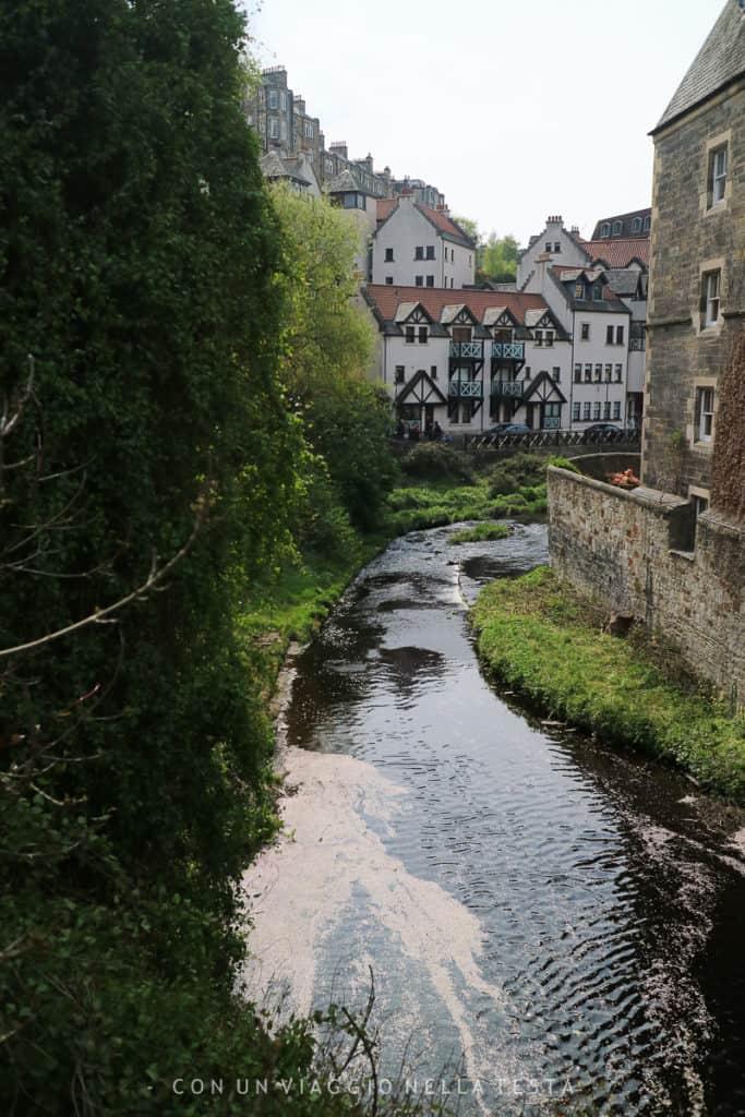cosa fare a edimburgo dean village fiume leith