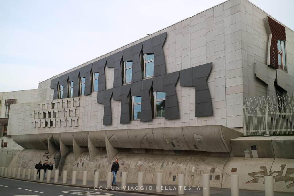 cose da fare a edimburgo, visitare il parlamento