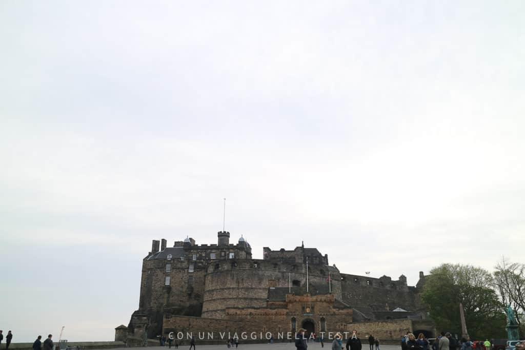 cosa fare a edimburgo, il castello
