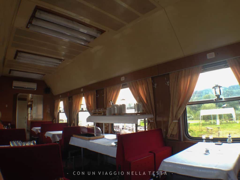 mocanita treno a vapore romania interno