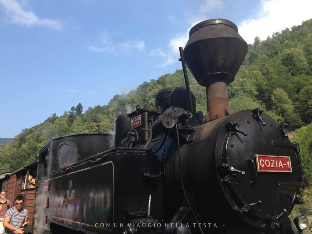 Mocanita Lultimo Treno A Vapore Forestale è In Romania