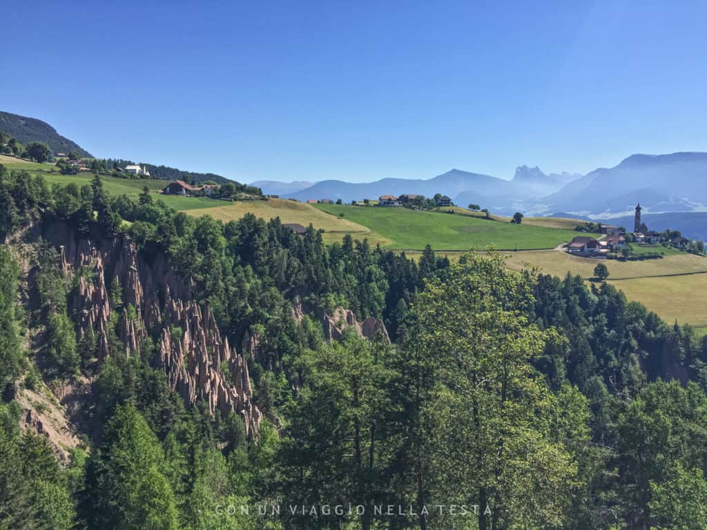 piramidi di terra renon vacanze estive in Alto Adige