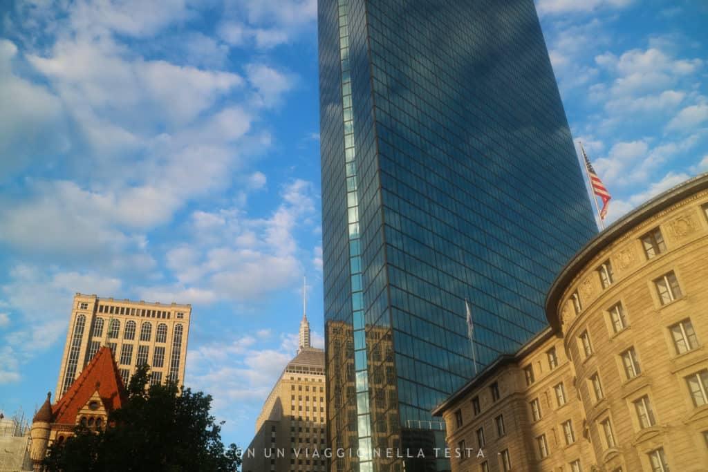 Viaggio a boston copley plaza