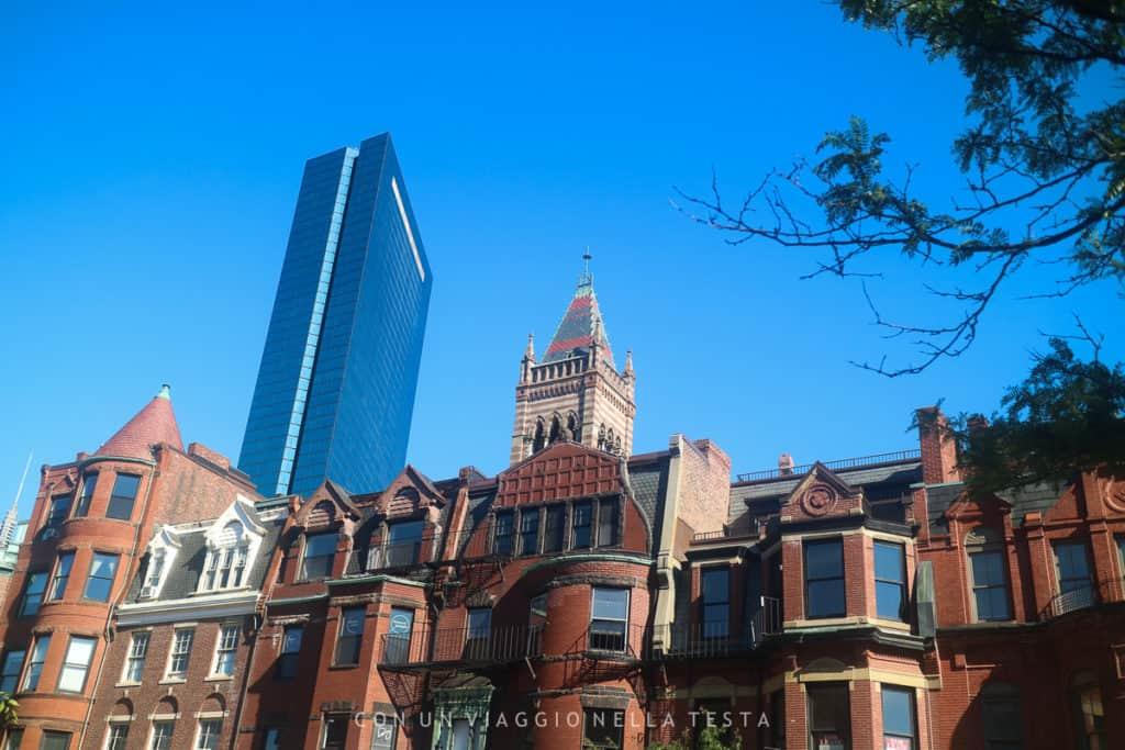 Viaggio a boston Gli abbaini delle case