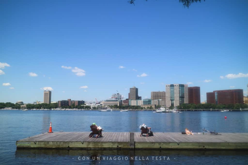 Viaggio a boston Charles River