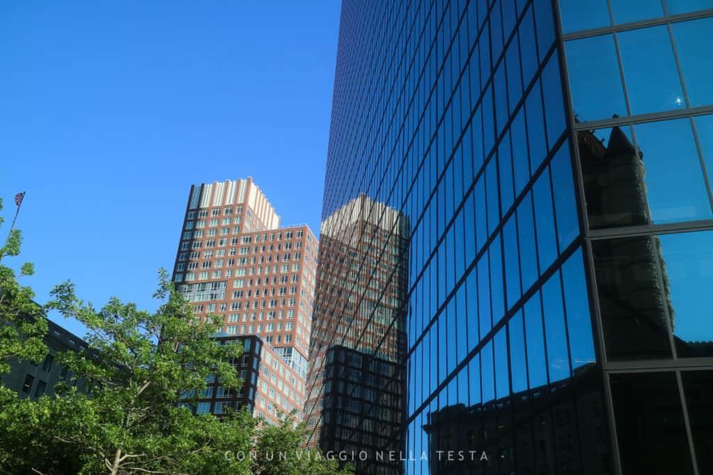 Viaggio a boston riflessi