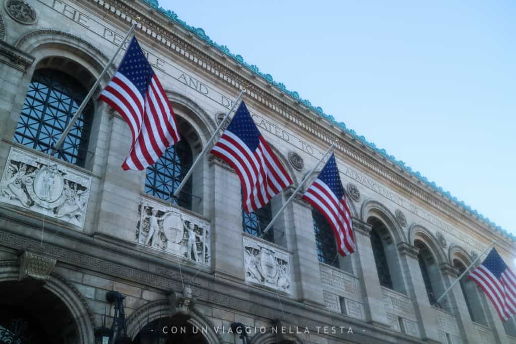 cosa vedere a boston: public library boston